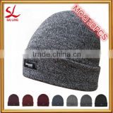 MOQ 20PCS!!! Men's Women Beanie Knit Ski Cap Cheap Winter Warm Unisex Wool Hat Wholesaler