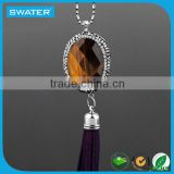 Top Selling Products In Alibaba Tassel Necklace Pendant Bead Beaded Fringe Turkish
