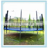 Fourstar16FTfitness trampoline park ,large size outdoor playground trampoline bed,bungee trampoline fabric