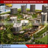 miniature scale building model maker, architectural residential building model with lighting system