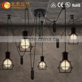 houses decorated christmas lights,chandelier halogen lamp,four rings hanging pendant lights