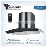 Hot sale European style stainless 90cm kitchen range hood A910