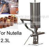 INQUIRY about Stainless Steel 2.3L Manual Spainish Churros Nutella Filler Machine