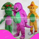 Custom made top sale barney and friend costumes