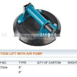 SCUCTION LIFT WITH AIR PUMP