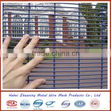 358 anti-climb fence/358 security fence/High security fence/welded wire mesh fence of ZX famous brand China