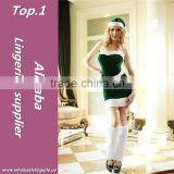 Plastic christmas cartoon costume with great price