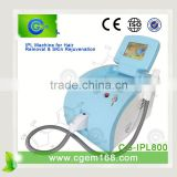 CG-IPL800 NEW! CE Approved weight loss beauty professional ipl hair removal equipement for face lift effect lasting