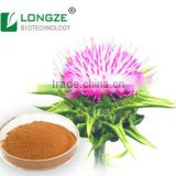 Health Care High-quality Silybum Marianum Extract powder milk thistle extract Silymarin 80% for Food and Beverage