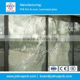 Bulletproof House Windows glass with high quality clear PVB film