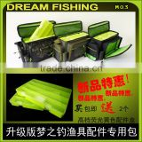 2015 New Fishing Tackle Bag With Plastic Lure Box