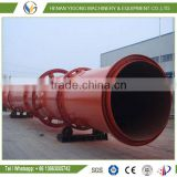 coco peat rotary dryer, palm fiber, coconut fiber drying machine for sale with factory design
