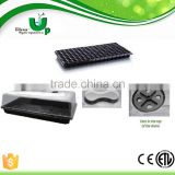 Hydroponics plant growing system seed tray