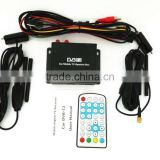 Hot-sale High Quality Car Digital Receiver With Dual Antenna Car Mobile TV Receiver For Mongolia, Russia, Singapore, Indonesia