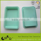 hot sale silicone burger pan