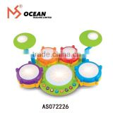 Children marching bass electronic hang drum set