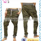 baggy Camo fashion women trousers military cargo pants
