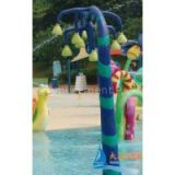 OEM Aqua Play Equipment Fiber Glass Water Sprayground for Kids Pool