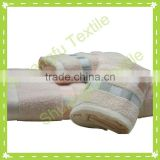 100% cotton dyed yarn square jacquard hotel face towels