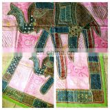 Elephant Patchwork Wall Hanging Bohemian Elephant Wall Tapestry