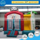 TOP INFLATABLES Professional inflatable mamaroo bouncer used fiberglass water slide for sale