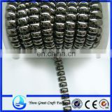 Manufacturers supply Christmas beads professional plating do not fade