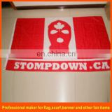 custom banner flag with printing your own logo