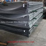Mining Nickel Steel Crimped Woven Wire Mesh For Quarries And Coal Yards