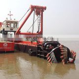 Heavy duty sand suction dredger boat for sale, China Manufacturer