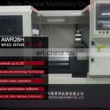 China new product CNC Alloy Wheel lathe for sale AWR28H