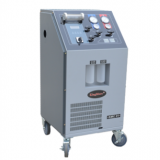 Manual Cost-effective refrigerant recovery machine ac service station with no after sales problem