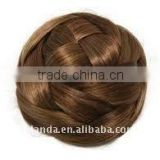 Graceful Brown Braid Dome Synthetic Hair Extension