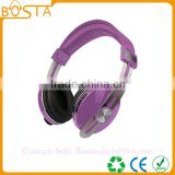 Professional stereo fancy wholesale good quality metal headband wireless bluetooth headphones