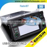 "Erisin ES7046B 7"" 1 Din Car Radio Player for 3 Series E46 1998"
