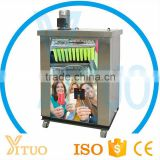 Germany France Compressor Industrial Ice Lolly Maker / Stainless Steel Ice Pop Maker Machine