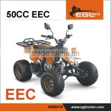 EEC 50cc Gas Four Wheeler For Kids In Atvs