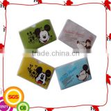 Promotion Cartoon Rigid Pvc Card Holder for sale