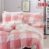 Yarn Dye Plaid fabric bedding sets, 100% Cotton Bedding sets, Vintage Comfortable style bed Linen