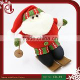Dropshipping Soft Stuffed Plush Toy Snowboard Santa Claus                                                                         Quality Choice