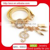 musical note rhinestone jewelry cheap wholesale body chains