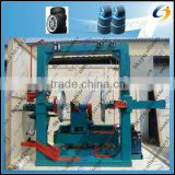High profile rubber tire and wheels processing machinery