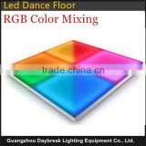 Stage led dance floor RGB color mixing dmx512/auto/sound Wedding dance floor decoration led for Disco Party Club Bar