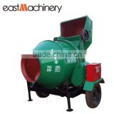 JZC350 Roller Drum Concrete mixer with Hydraulic diesel engine widely used concrete mixer for sale
