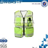 high visible red/yellow/green reflective workwear