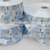 high quality, eco-friendly and favorable price printed roller shape adhesive sticker label