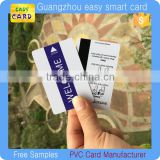 Customized printing PVC magnetic card, Plastic magnetic stripe hotel key card/ membership card                                                                         Quality Choice