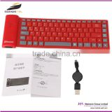 [somostel] New silicone cover Mini Bluetooth Laptop gaming keyboard Desktop for apple/iPad