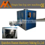 Automatic single channel maxi roll toilet paper log saw cutter machinery