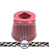 Aluminum Car Air Filter, Intake Fuel Saver Fan, Air Intake Filter