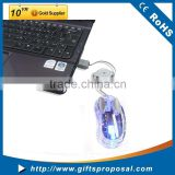 Computer Wired Liquid Mouse Transparent Mouse